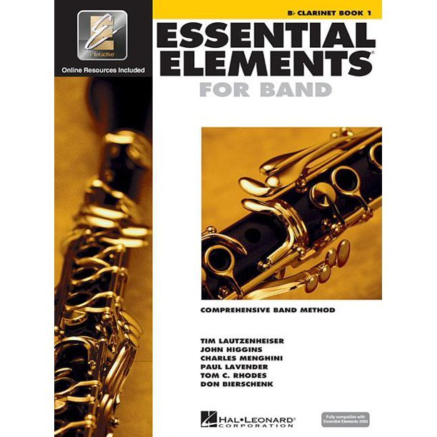 Bb Clarinet Book 1 Essential Elements for Band