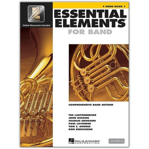 French Horn Book 1 Essential Elements for Band