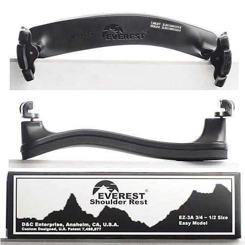 Everest Shoulder Rest 1/2 - 3/4 Black