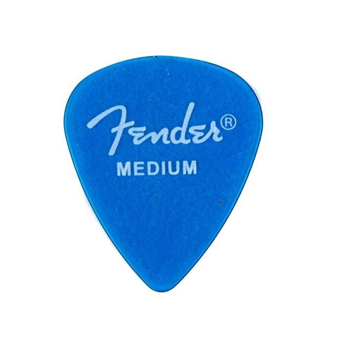 Fender 351 Shape Medium 12 Pack California Clears Picks