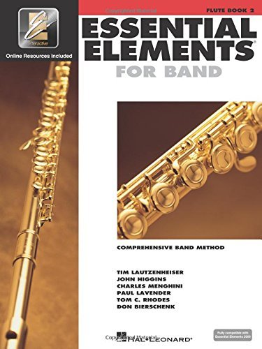 Flute Book 2 Essential Elements for Band