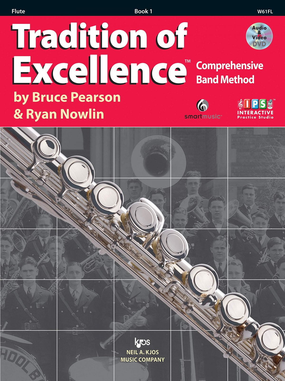 Flute Book 1 Tradition of Excellence Comprehensive Band Method 2nd Edition