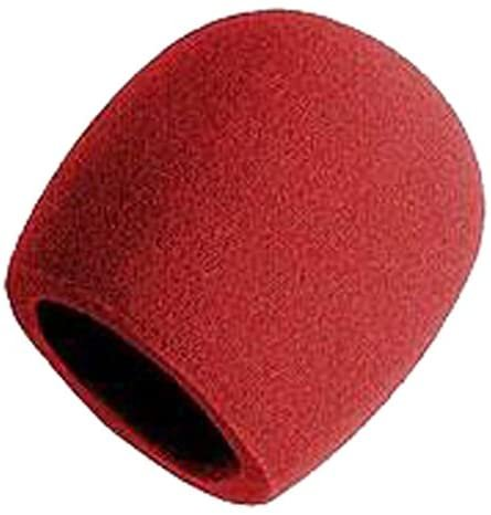 Hamilton Foam Mic Windscreen Red