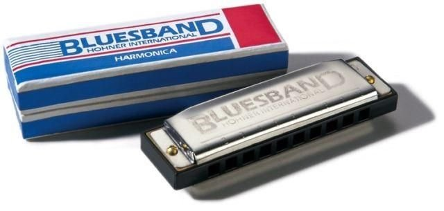 Hohner HH1501C Bluesband Key of C Harmonica