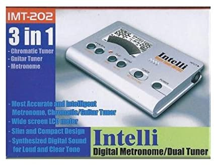 Intelli IMT-202 Digital Metronome/Dual Tuner