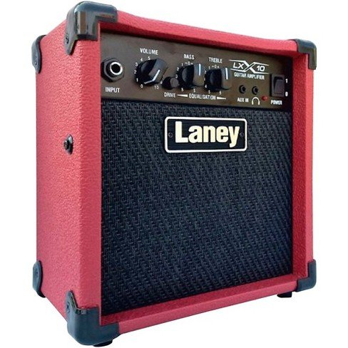 Laney LX10 Guitar Amp Red