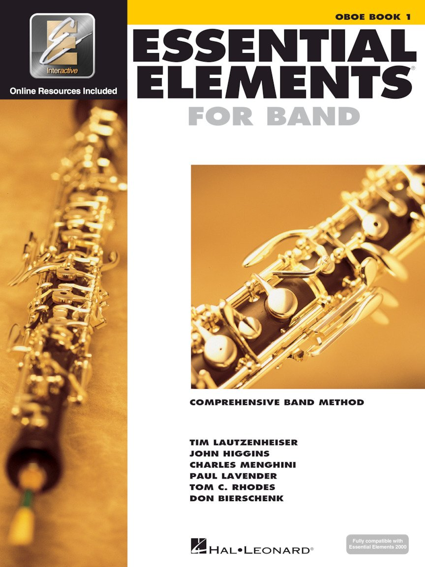 Oboe Book 1 Essential Elements 2000