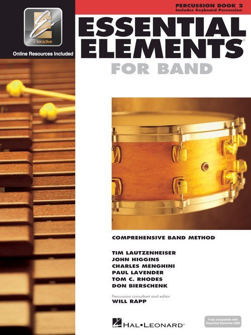 Percussion Book 2 Essential Elements for Band