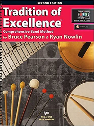 Percussion Book 1Tradition of Excellence Comprehensive Band Method 2nd Edition
