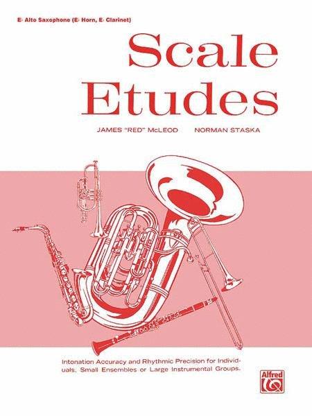 Scale Etudes Eb Alto Saxophone, Eb Horn, Eb Clarinet