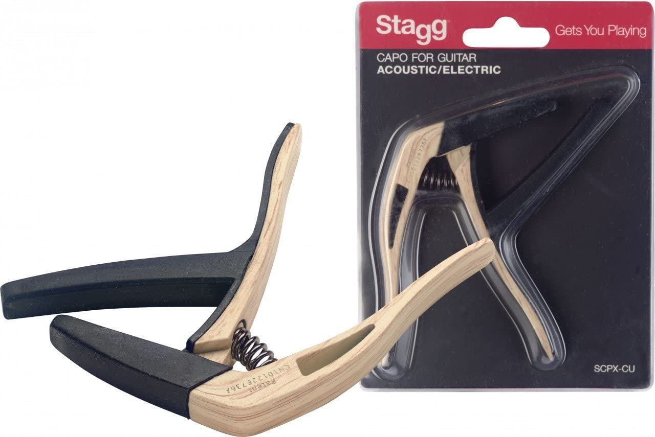 Stagg SCPX-CU Acoustic/Electric Guitar Capo