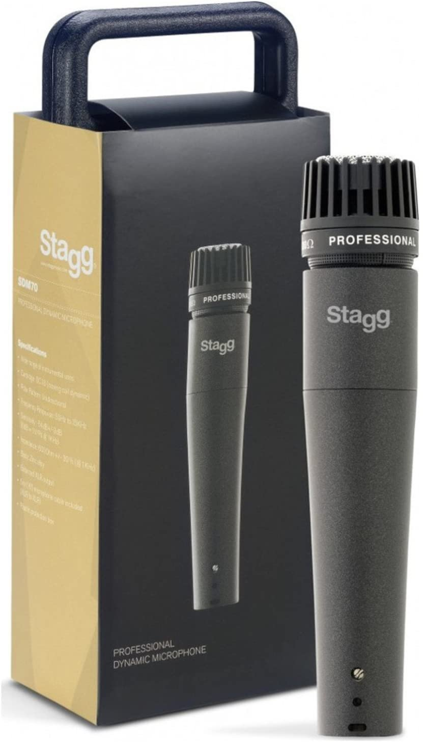 Stagg SDM70 Professional Dynamic Microphone