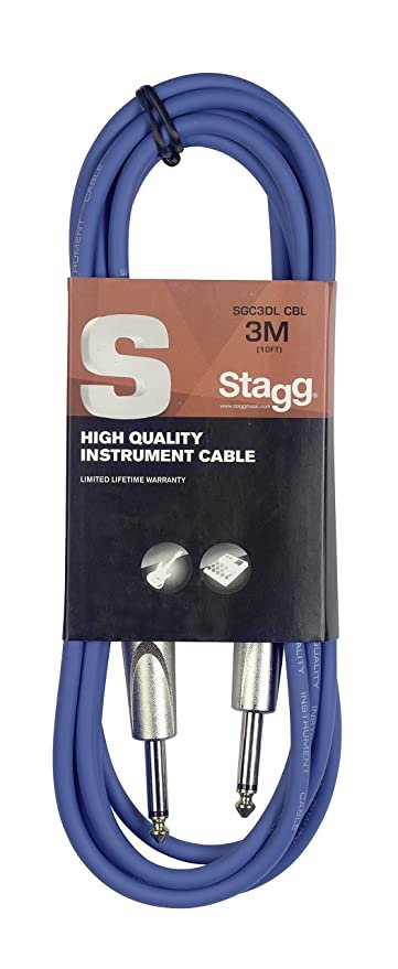 Stagg SGC3DL 3M (10ft) Instrument Cable
