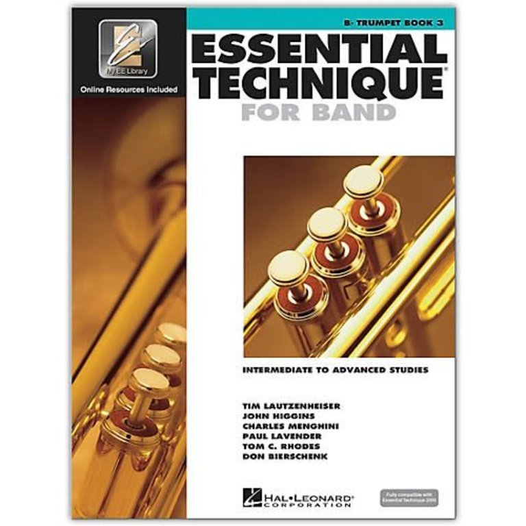 Trumpet Book 3 Essential Technique for Band
