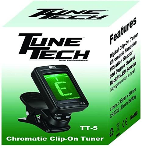 Tune Tech TT-5 Chromatic Clip-On Tuner