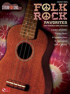 Folk Rock Favorites for Strum & Sing Ukulele