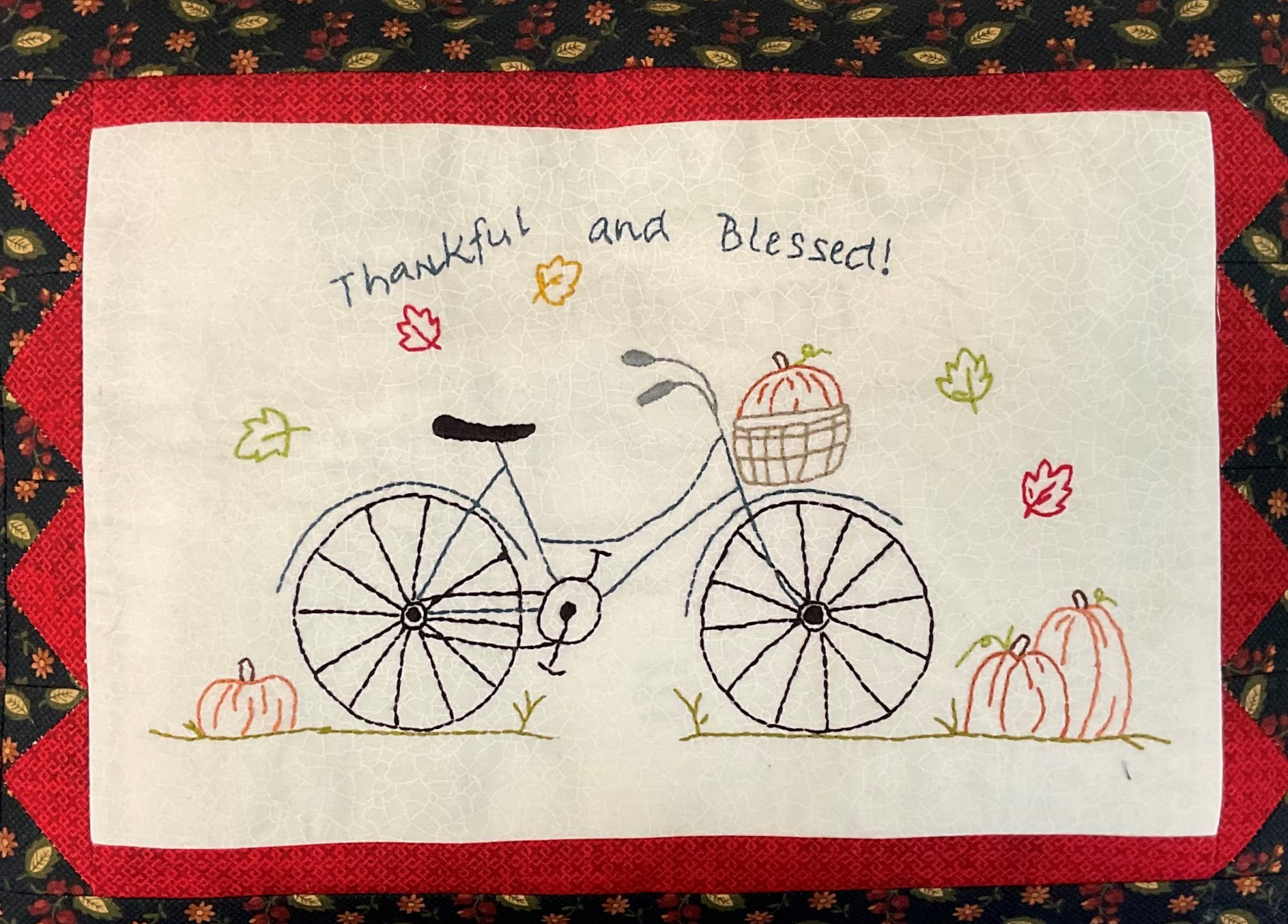 Thankful & Blessed Pillow kit