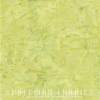 Hoffman Fabrics Bali Watercolors Watercress