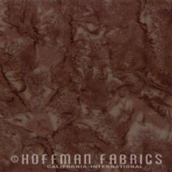 Hoffman Fabrics Bali Watercolors Chestnut