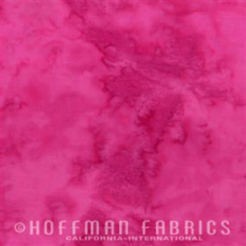 Hoffman Fabrics Bali Watercolors Raspberry