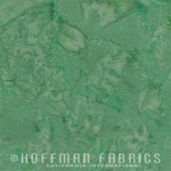 Hoffman Fabrics Bali Watercolors Green Tea