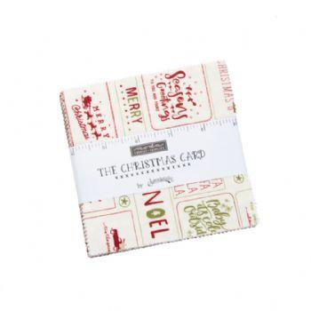 "Moda The Christmas Card Charm Pack 42 pc 5"" x 5"""