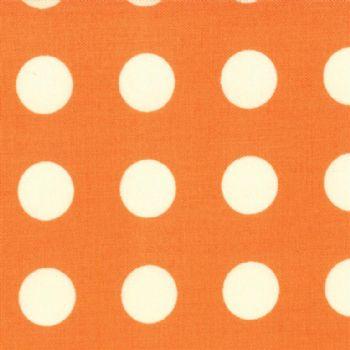 Moda Oh Deer Tangerine Dots