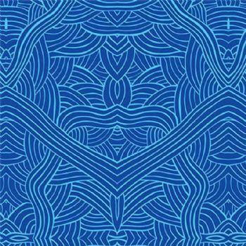 M&S Textiles Untitled Blue