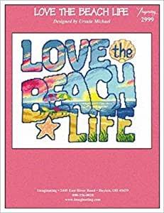 Counted Cross Stitch Kit - Beach Life - 10x11 1/2