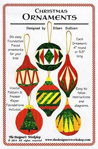 Christmas Ornaments by Elieen Sullivan