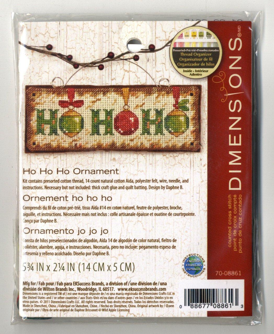 Ho Ho Ho - 5.75x2.25