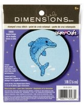 Counted Cross Stitch Kit Dolphin