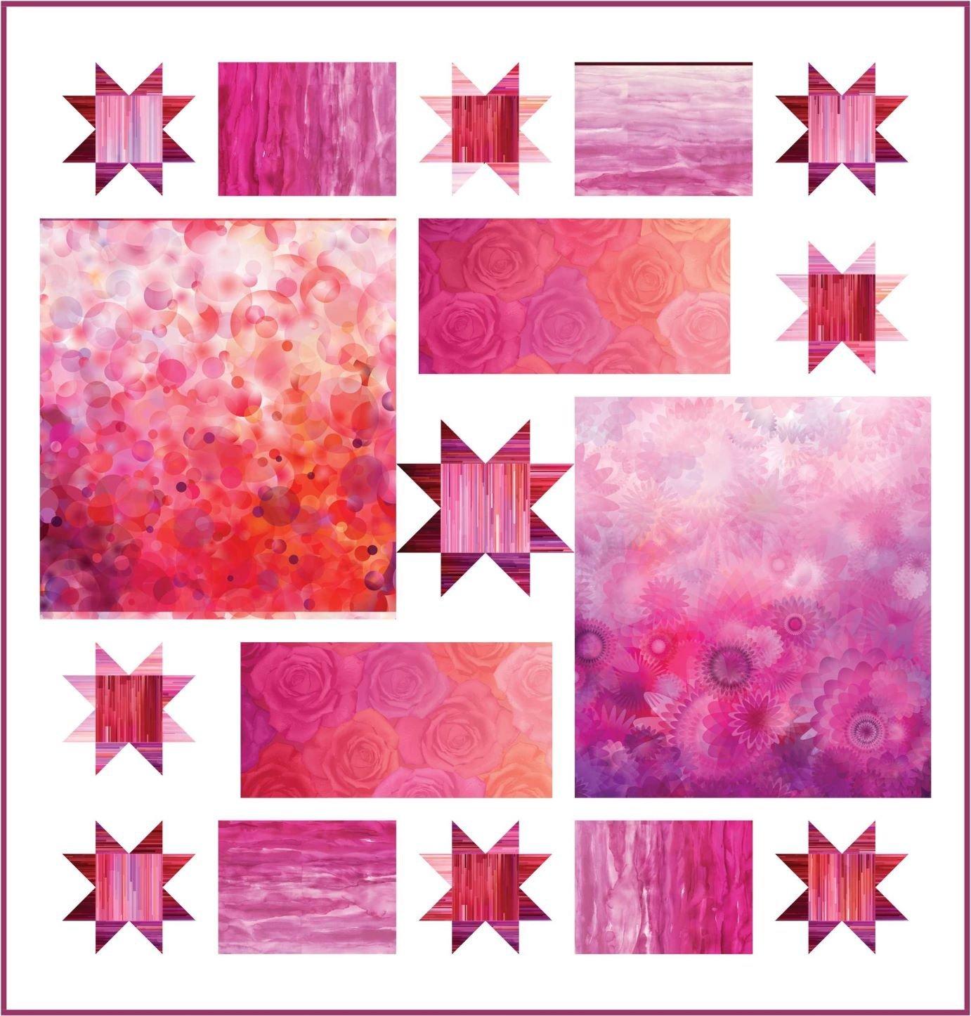 Moda Gradients Kit-Pink