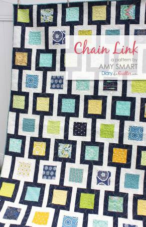 Chain Link Quilt Pattern by Amy Smart for Diary of a Quilter