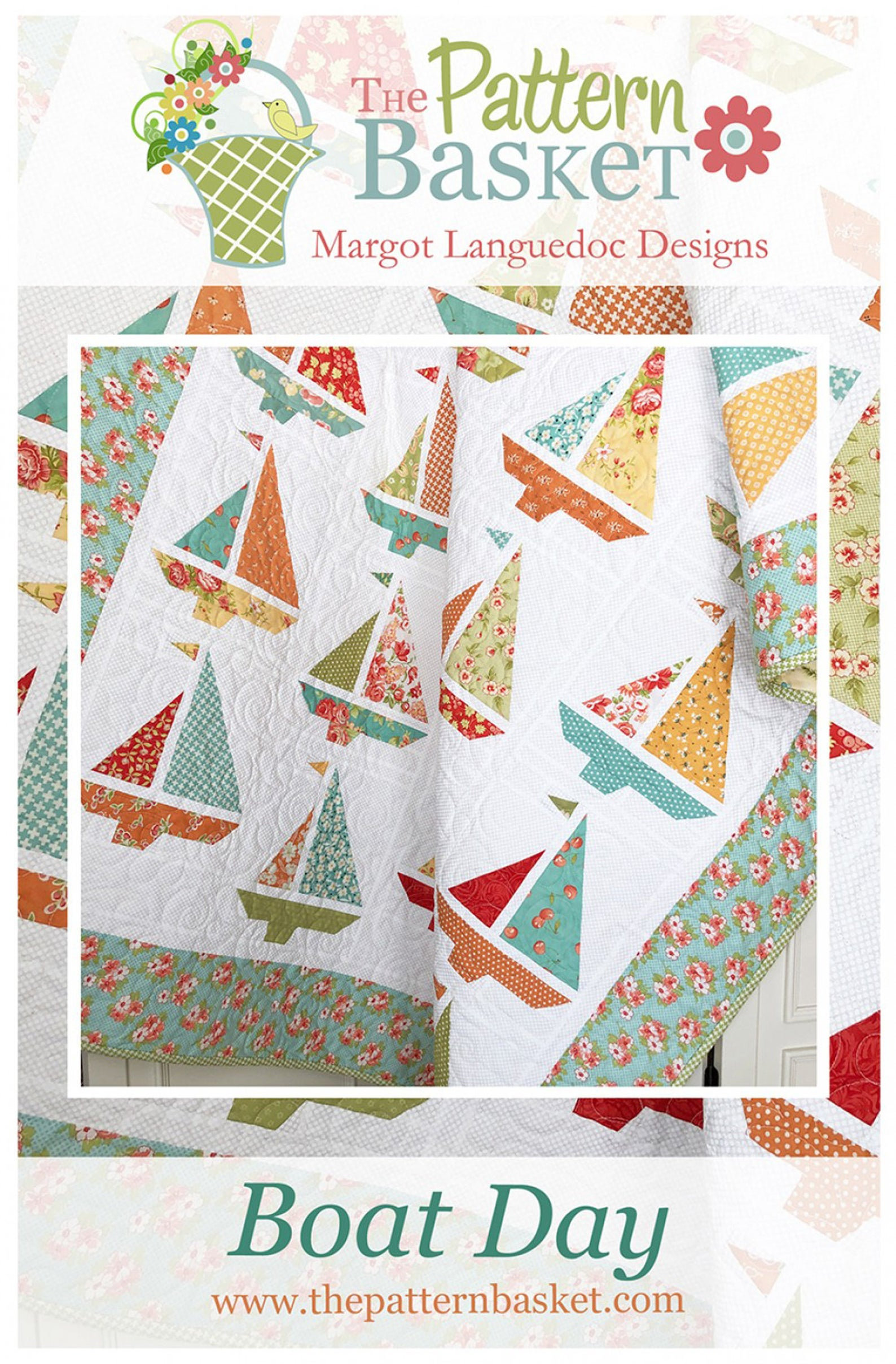 Boat Day Quilt Pattern by The Pattern Basket Margot Languedoc