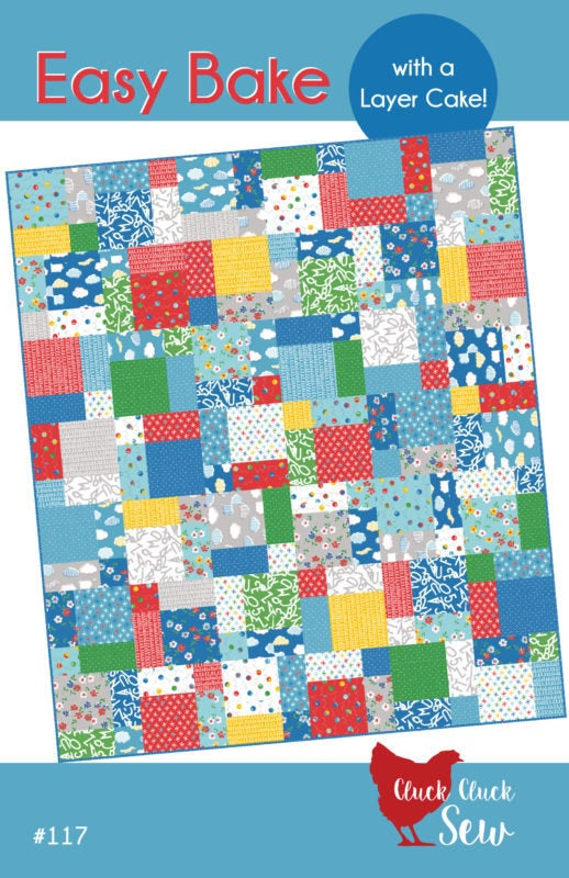 Cluck Cluck Sew Easy Bake Quilt Pattern