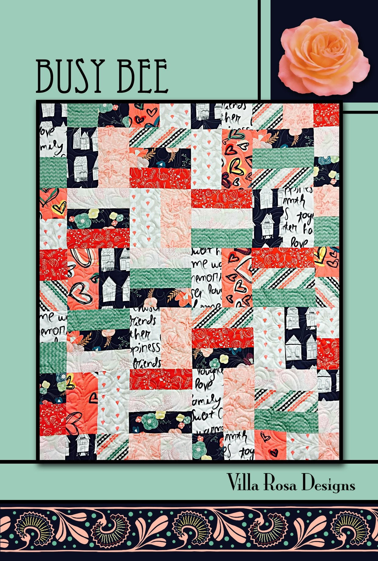 Busy Bee Quilt Pattern by Villa Rosa Designs Quilt Patterns