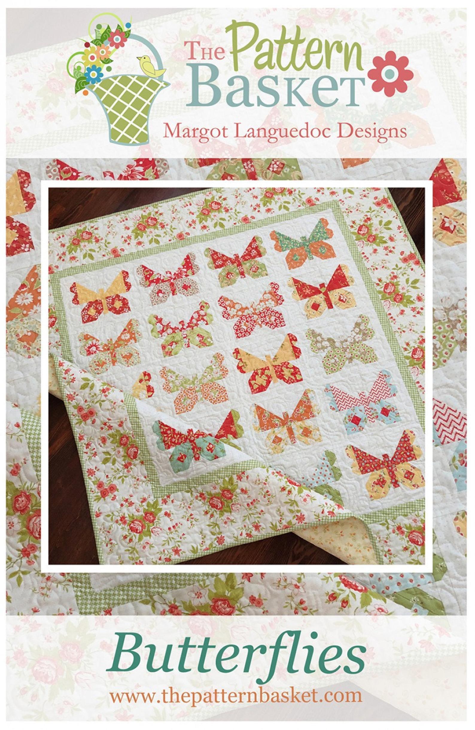 Butterflies Quilt Pattern by The Pattern Basket