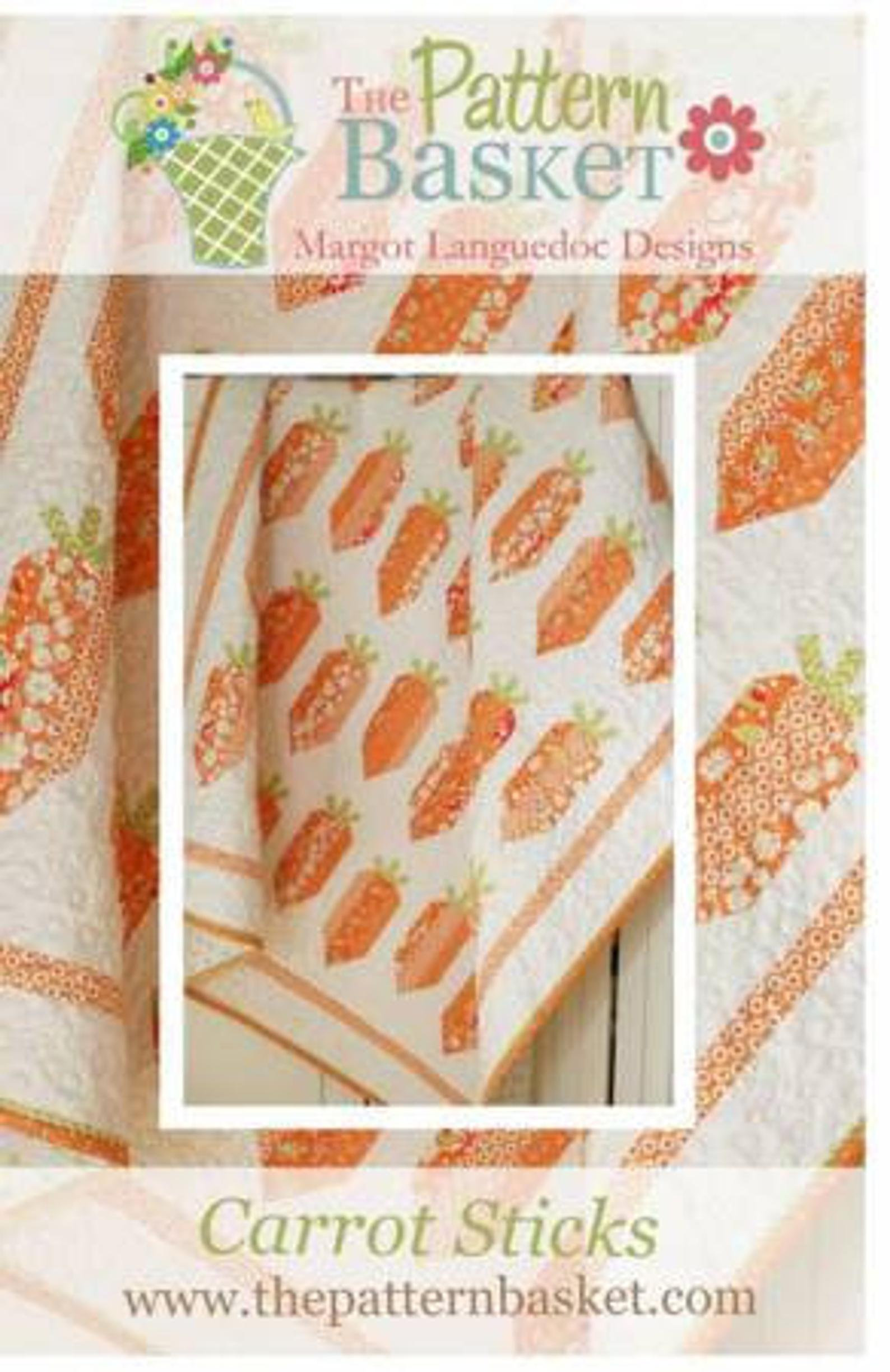 Carrot Sticks Quilt Pattern by The Pattern Basket Margot Languedoc