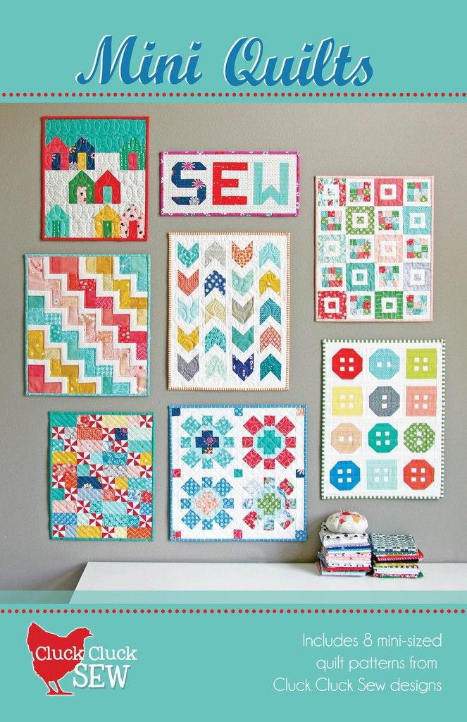 Cluck Cluck Sew Mini Quilt Booklet