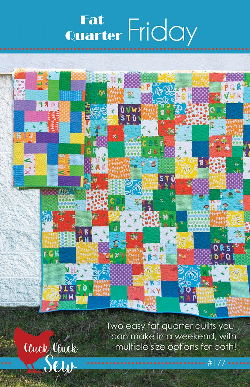 Cluck Cluck Sew Fat Quarter Friday Quilt Pattern