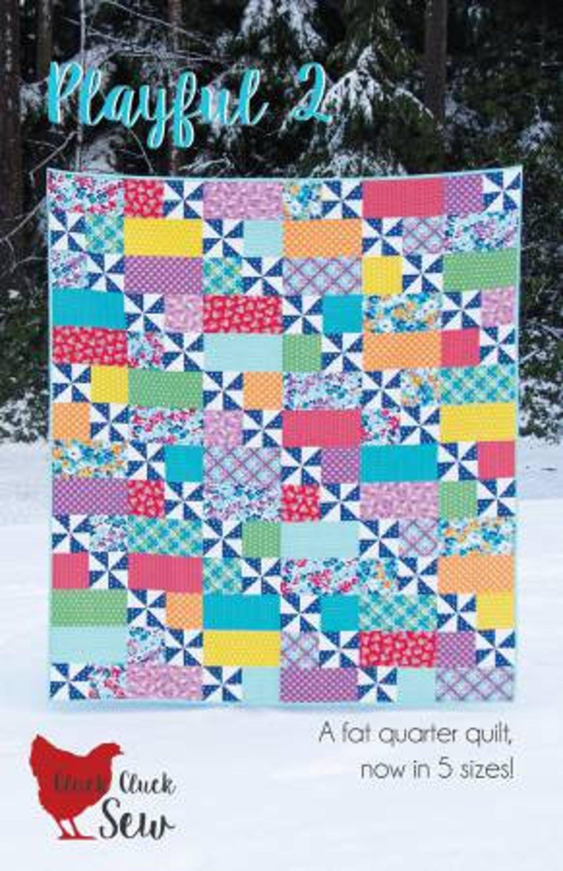Cluck Cluck Playful 2 Quilt Pattern