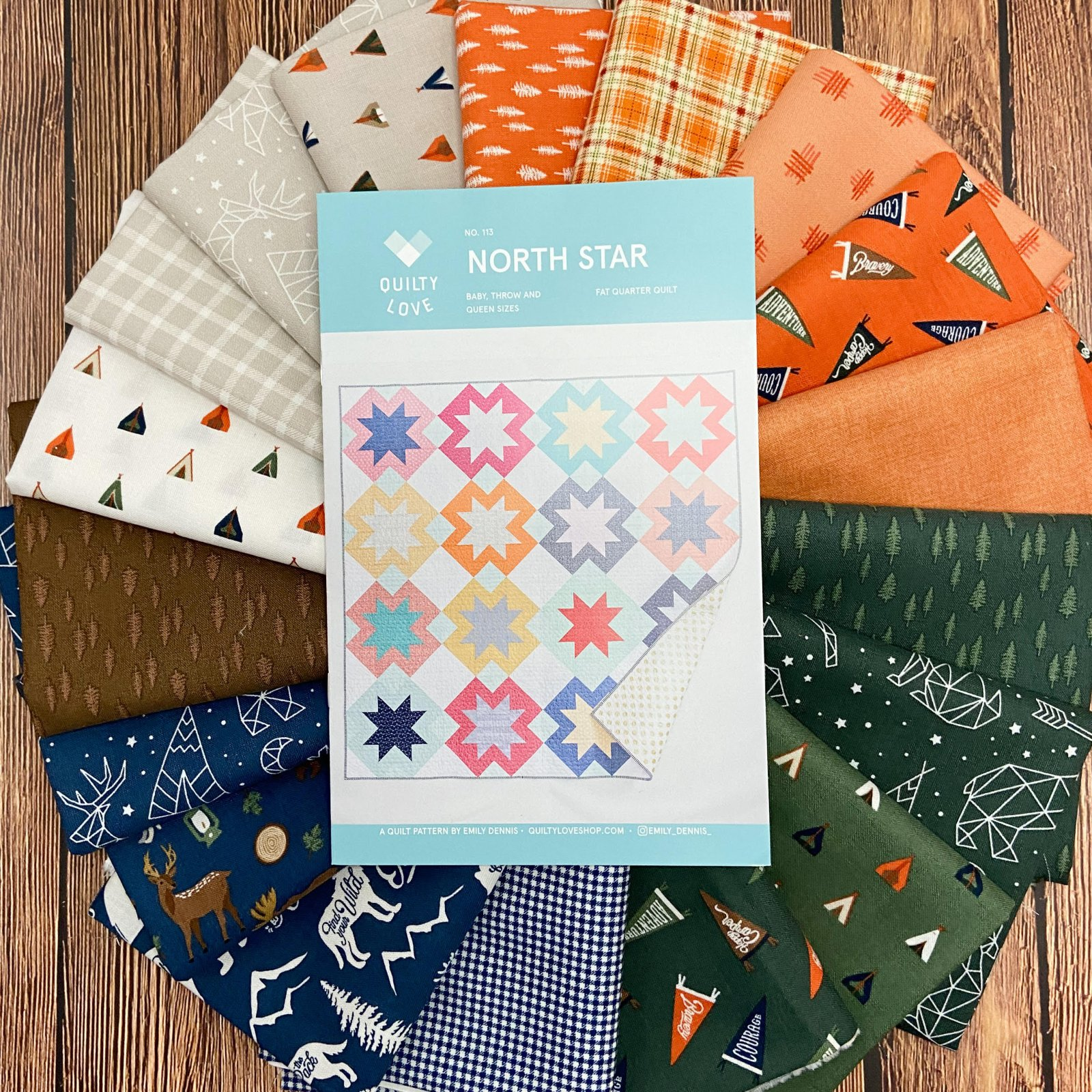 Adventure is Calling North Star Quilt Kit