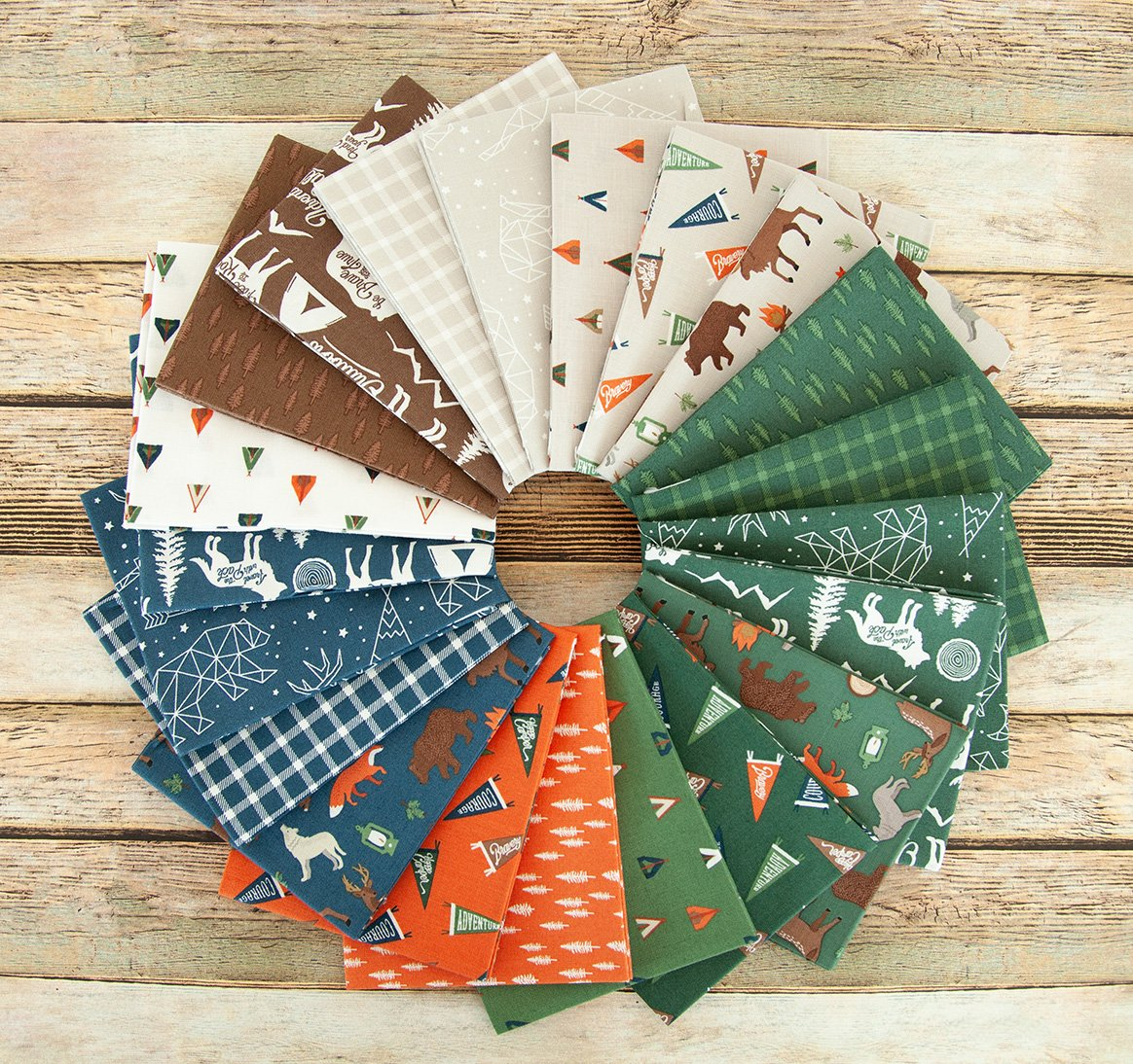 Adventure is Calling Fat Quarter Bundle from Riley Blake
