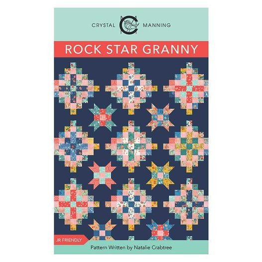 Rock Star Granny Quilt Pattern from Crystal Manning