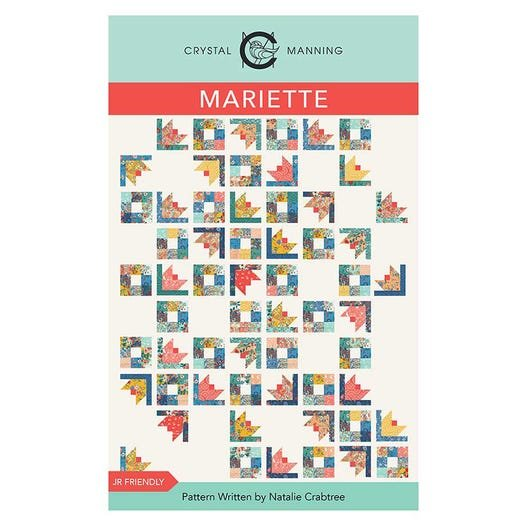 Mariette Quilt Pattern from Crystal Manning