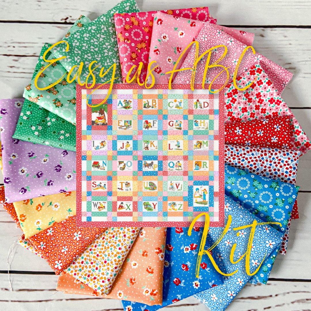 1930's Easy as ABC Quilt Kit