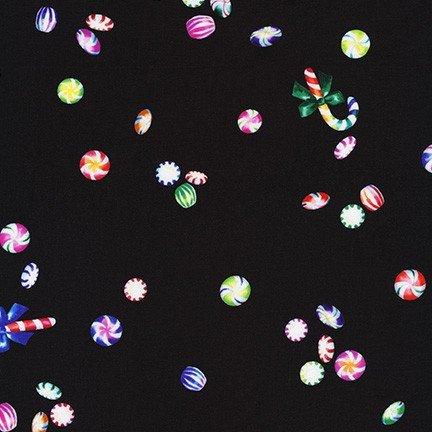 Glow Scattered Goodies Black for Robert Kaufman