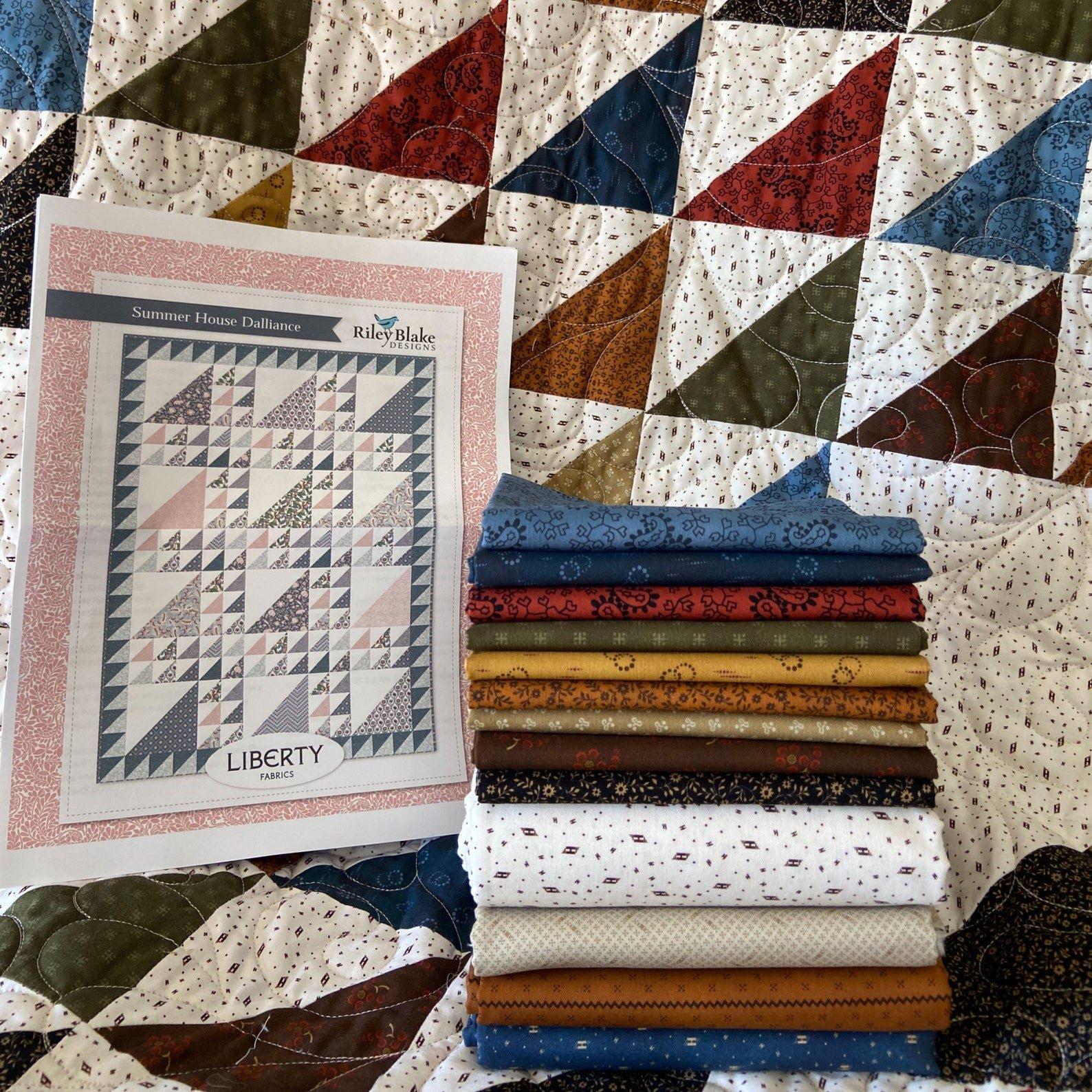 Homestead Harvest Summer House Dalliance Quilt Kit