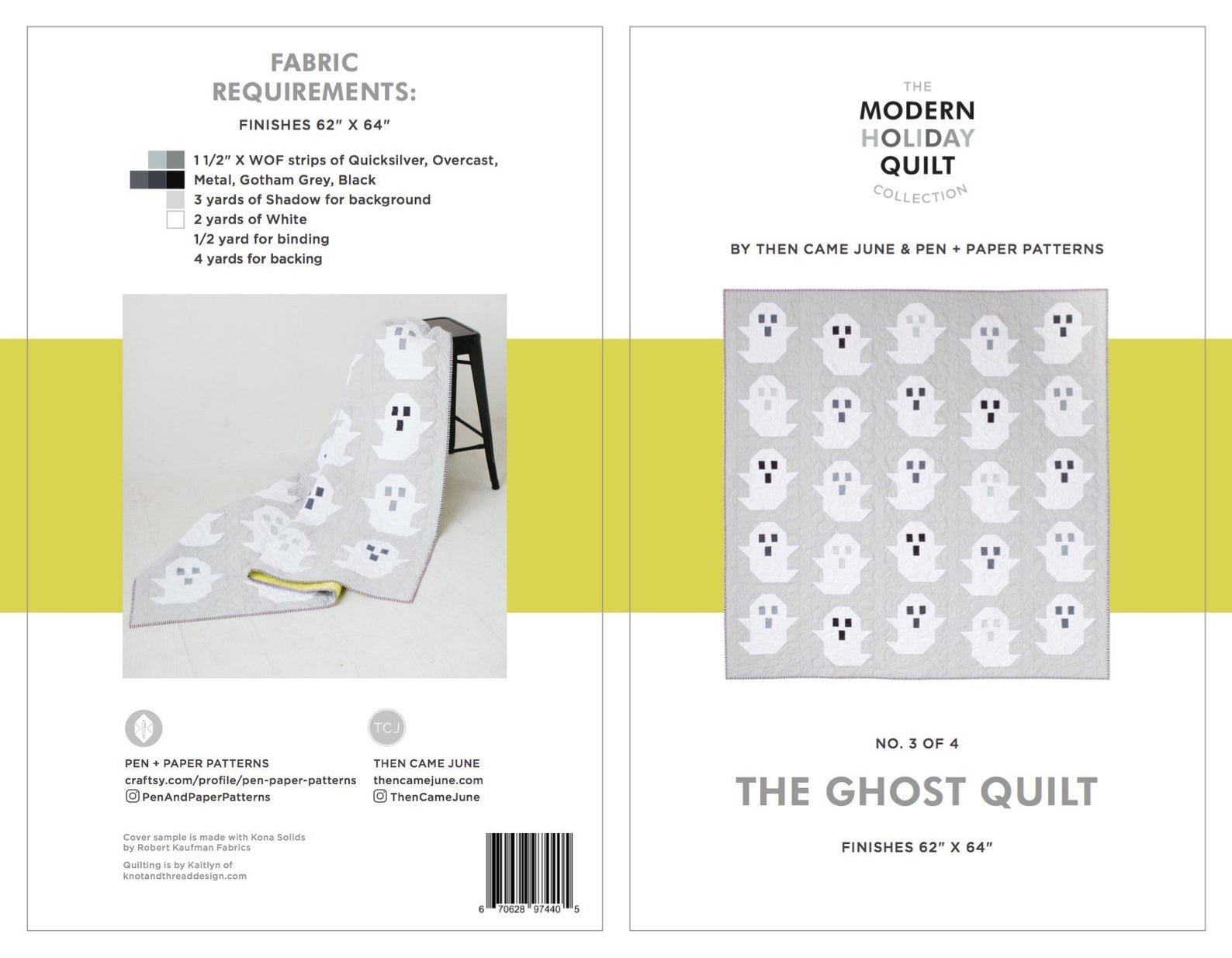 Ghost Quilt Pattern